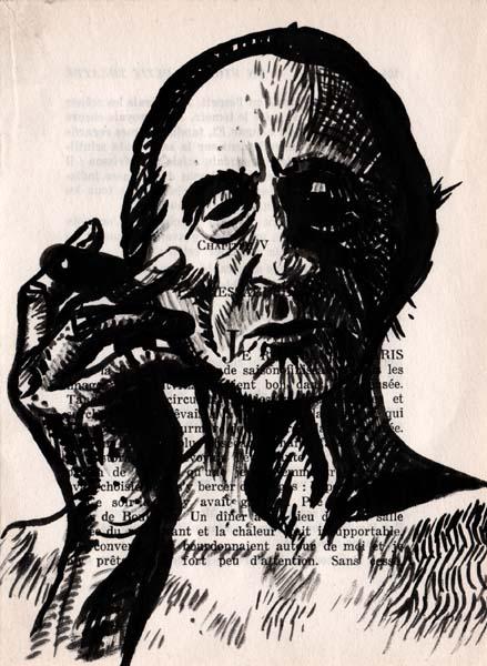 Marcel D, encre, Saïssi