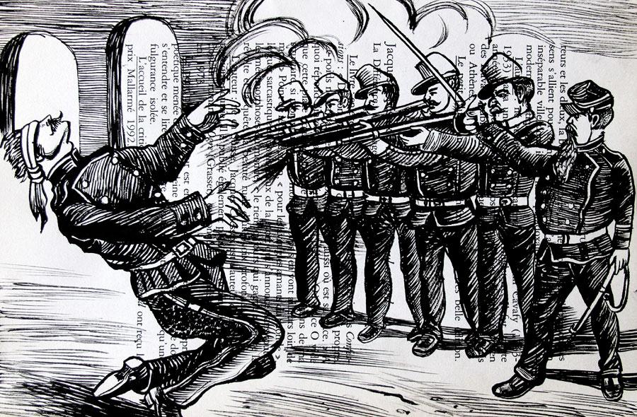 D'après Posada, execution, Saïssi