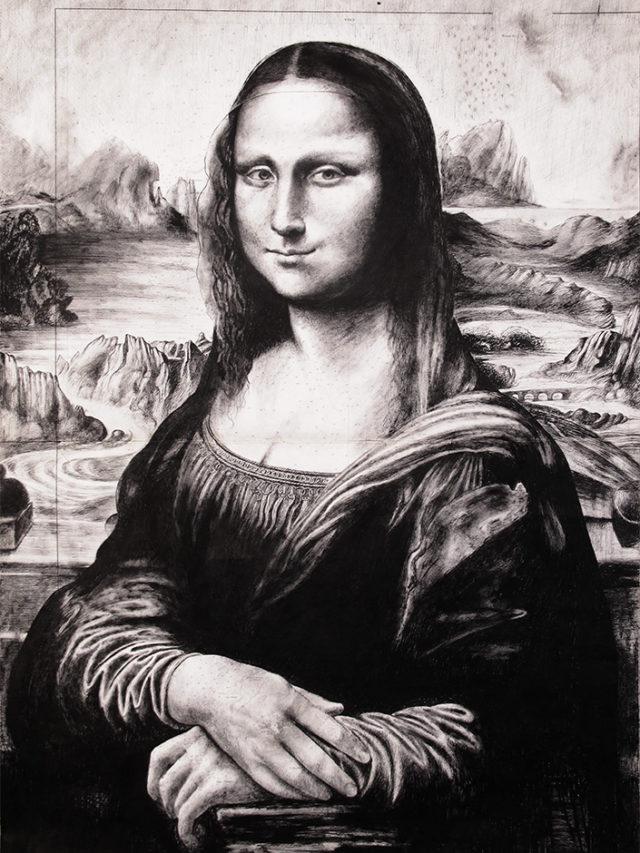 Mona Lisa, 95x69, 2018